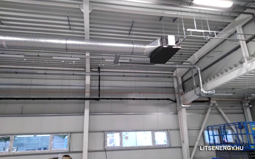 Különböző fajtájú légcsatornák a légtechnika szerelésben